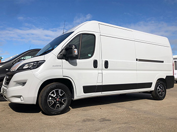 'Exclusive' 3.5t Vans on Contract Hire